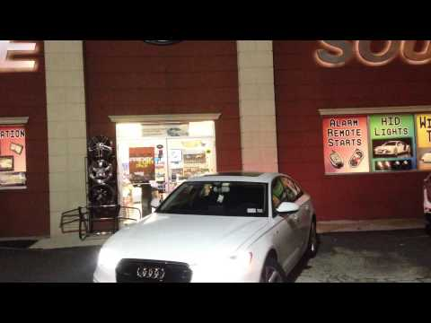 2014 Audi A6 Remote Start with Smartphone Control