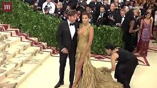 Video  Bradley Cooper   Irina Shayk look loved up at the 2018 Met Gala