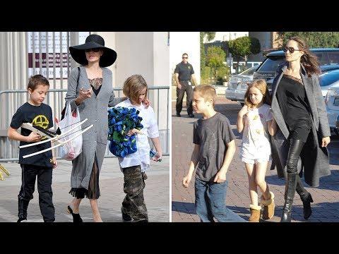 Angelina Jolie & Brad Pitt's Kids  2018 Vivienne Jolie Pitt  Knox Jolie Pitt