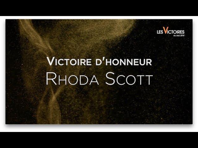 Victoires du Jazz 2018 | Victoire d'Honneur | Rhoda Scott