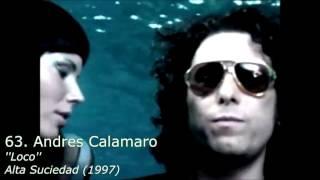 Top 100 Rock Latino de la Década de 1990