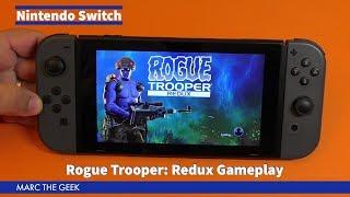 Nintendo Switch: Rogue Trooper Redux Gameplay