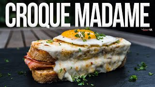 Croque Madame Sandwich | SAM THE COOKING GUY 4K