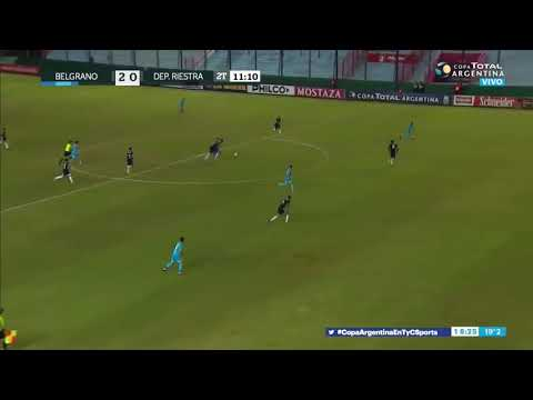 Belgrano 3 - 0 Deportivo Riestra – Goles de Meli, Brunetta y Sequeira – Copa Argentina 2019