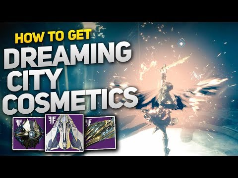 How to get the Dreaming City Ship, Sparrow and Ghost Shell! (Destiny 2 Forsaken)