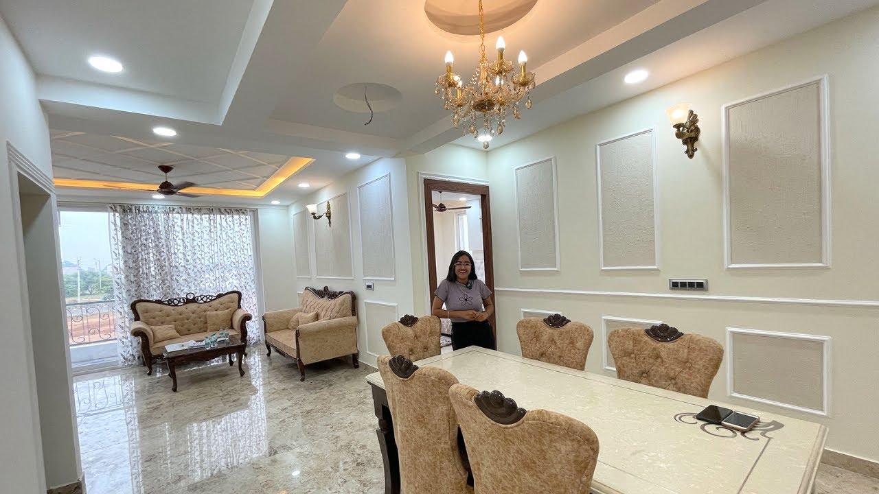 INSIDE TOUR OF 2250 SQ FT 3 +1 BHK INDEPENDENT VILLA FLOORS , PREMIUM INTERIOR IN DLF NEW CHANDIGARH