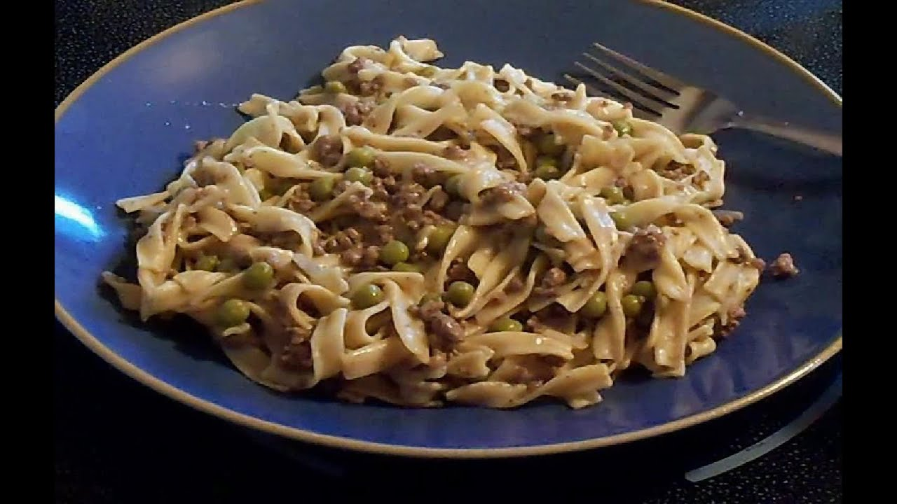 Ground beef and noodles recipe easy