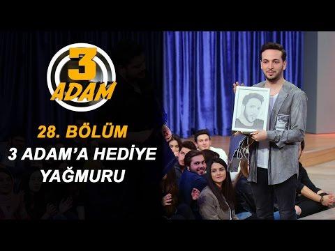 Seyircilerden 3 Adam'a Hediye Yağmuru! | 3 Adam