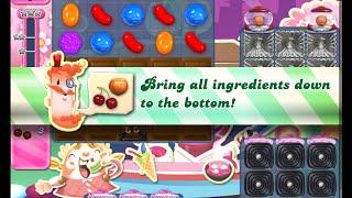 Candy Crush Saga Level 1184 walkthrough (no boosters)
