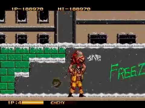 Two Crude Dudes - (Mega Drive) - Completo