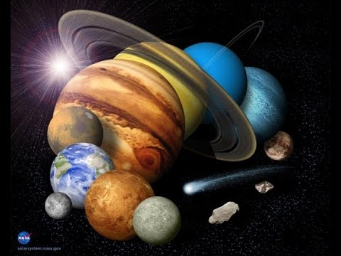 Solar System Planets Information Pictures - YouTube