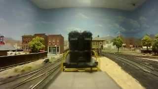 PRR SD9s  On Ron Meis  HO railroad