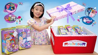 Mở Hộp Đồ Chơi Thế Giới Tí Hon Polly Pocket 💎 AnAn ToysReview TV 💎