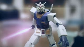 Gundam stopmotion episode1【Destroy supply base!!】