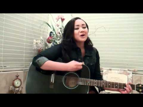 """Cymphonique Sings """"Only You Can Be You"""" Playing Guitar"""