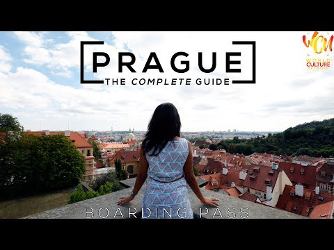 Prague City Travel Guide | Boarding Pass | ft. Parampara Patil Hashmi  | World Culture Network