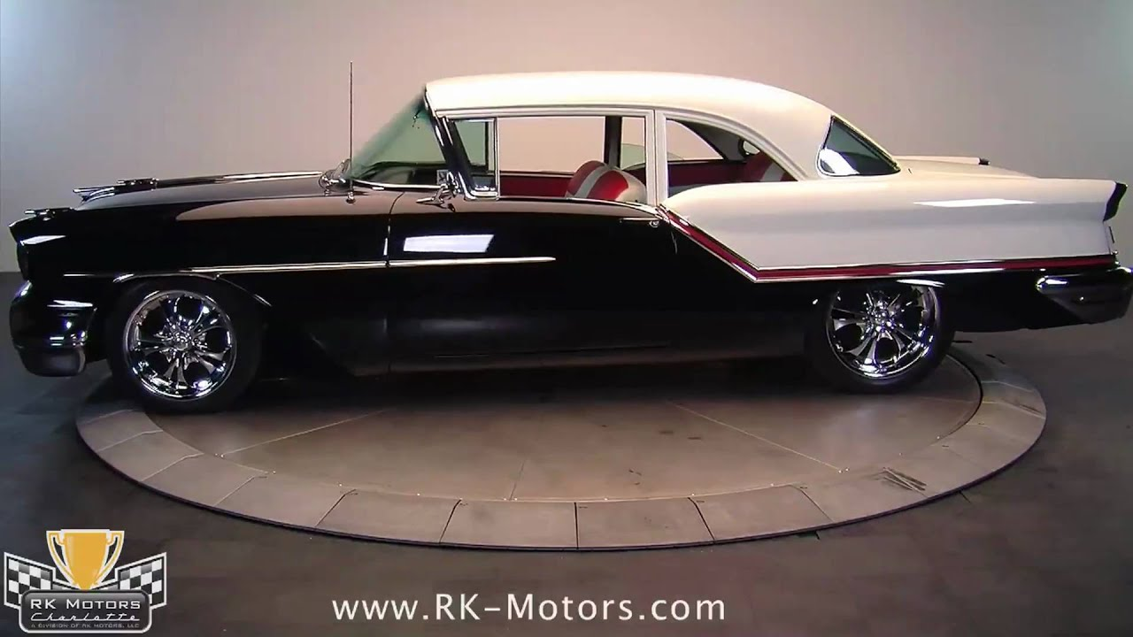 132198 1957 Oldsmobile Golden Rocket 88 Youtube 1950s American Cars