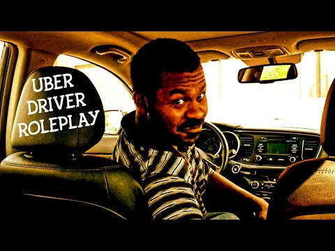 ASMR Driving for UBER Roleplay | Taxi Driver | Car Sounds & Car Ambience