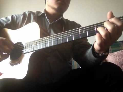 Jesus be the center guitar fingerstyle (israel houghton) - YouTube