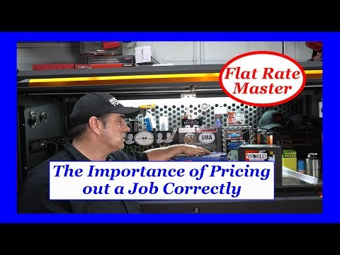 The Importance of Pricing out a Job Correctly