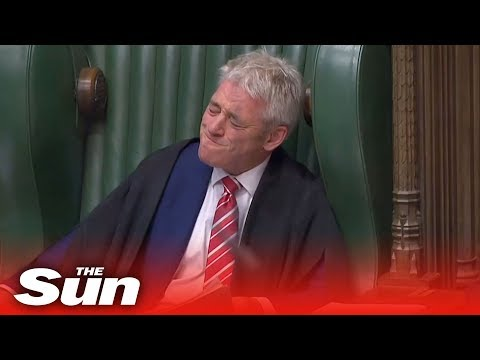 John Bercow Tears Up As MPs Pay Tribute At His Final PMQs