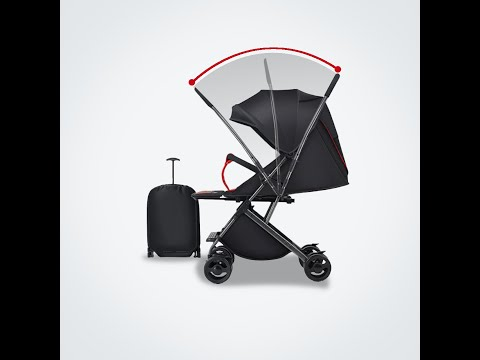Mamaland Two 2 Ways Facing Reversible Parent Facing Travel Compact Fold Lightweight Baby Stroller
