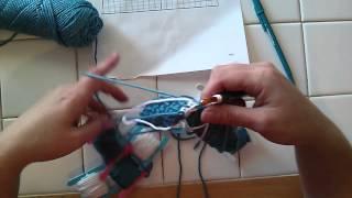 Single Crochet Intarsia Letters