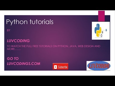 PYTHON STRINGS TUTORIALS  LUVCODING