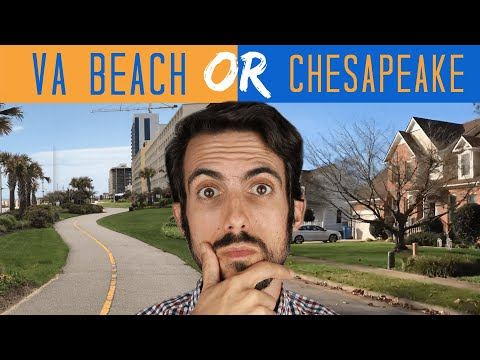 Should You Live in Virginia Beach OR Chesapeake? Let's Settle This!