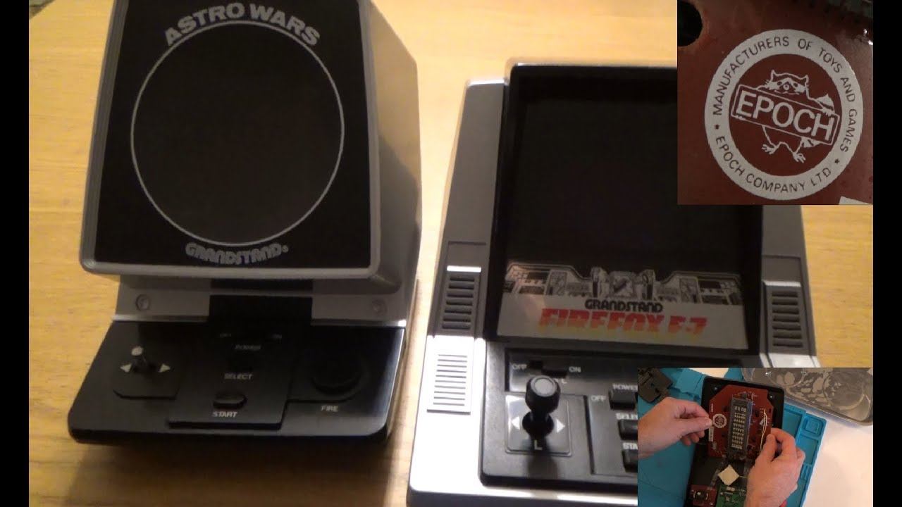 Trying to FIX Astro Wars & FIREFOX F-7 table top 1980s games