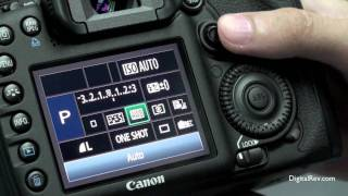 Canon EOS 7D - Hands-on Review(Take a first look at the Canon EOS 7D. [Playlist]: http://bit.ly/DSLRrev [Subscribe]: http://bit.ly/DRTVSub ————————— Pricing reference: http://bit.ly/Can7D ..., 2009-09-26T01:55:08.000Z)