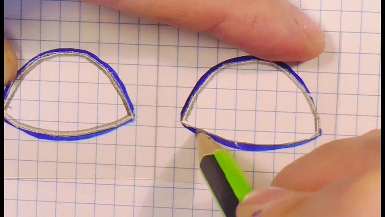 4 Moldes Para Los Ojos De Las Muñecas Video 183