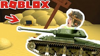 BUILD A TANK FOR TREASURE in ROBLOX