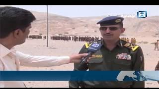 تخريج كتيبة تضم أكثر من 200 جندي وفق أسس علمية في محافظة البيضاء اليمنية