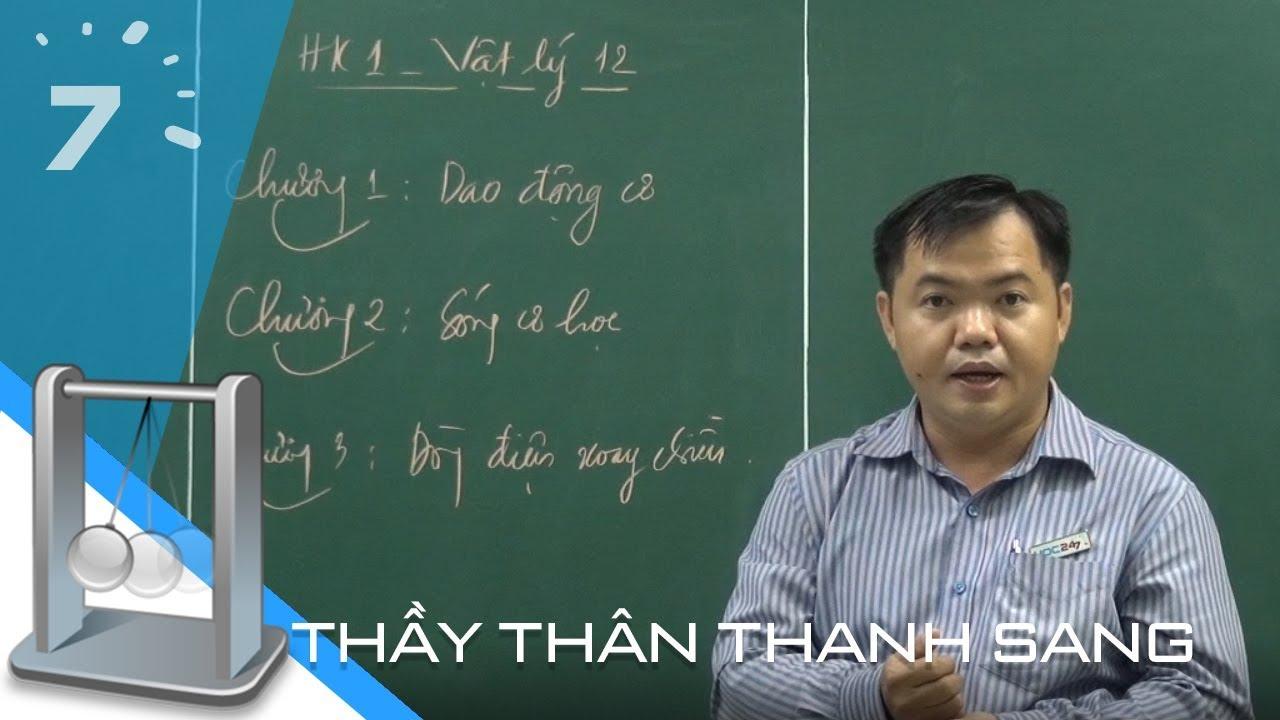Vật lý 12: Ôn tập học kì I | HỌC247