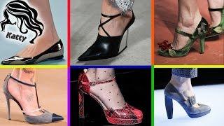 Мода. Туфли. Осень 2015. Модная подборка