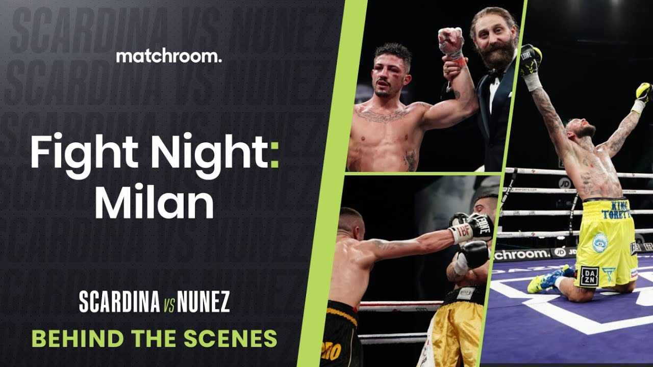 Fight Night: Daniele Scardina vs Cesar Nunez (Behind The Scenes)