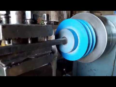 DIY Metal Lathe Machine Without Using a Lathe Machine New Video 2019