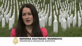 Srebrenica massacre survivor tells her story