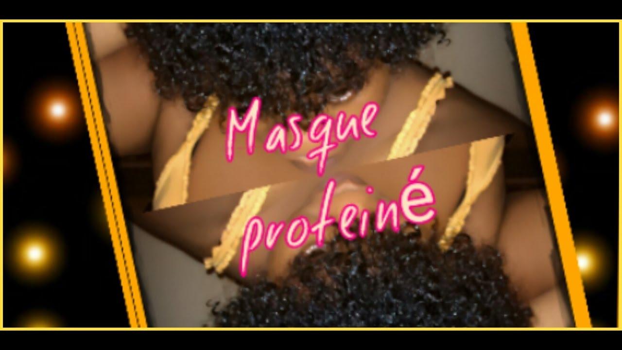 Masque proteiné fait maison / protein DIY Mask - YouTube