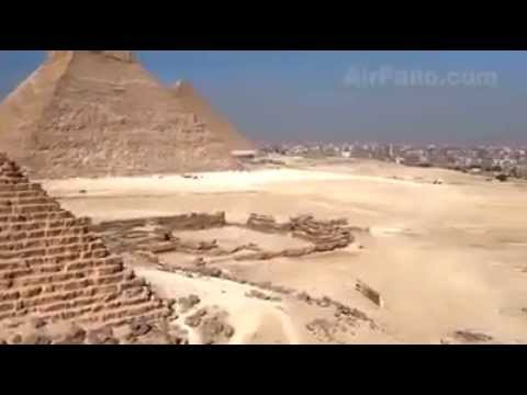 WOW Great Pyramids of Giza .. Amazing Video .. must watch