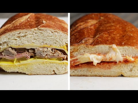 2 Giant Paninis For Your Summer Grill •Tasty