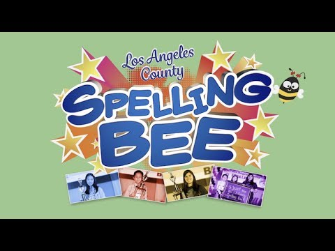 2017 Los Angeles County Spelling Bee