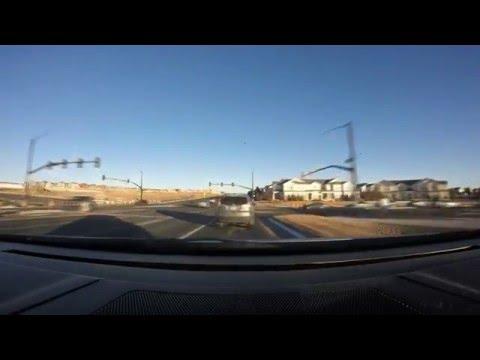 Denver, Castle Rock, Colorado Springs drive time lapse