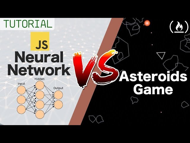 Beat Astroids Game Using a Neural Network - JavaScript Tutorial