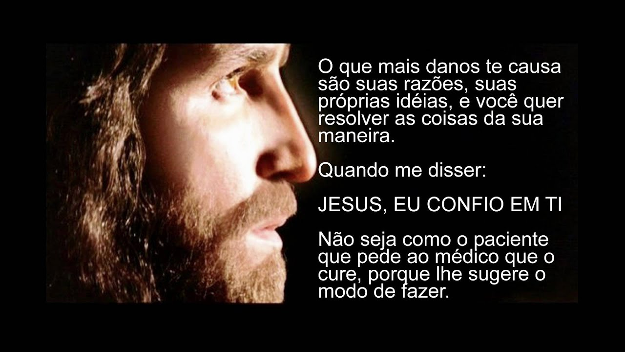 MENSAGEM DE JESUS (LINDA DEMAIS)
