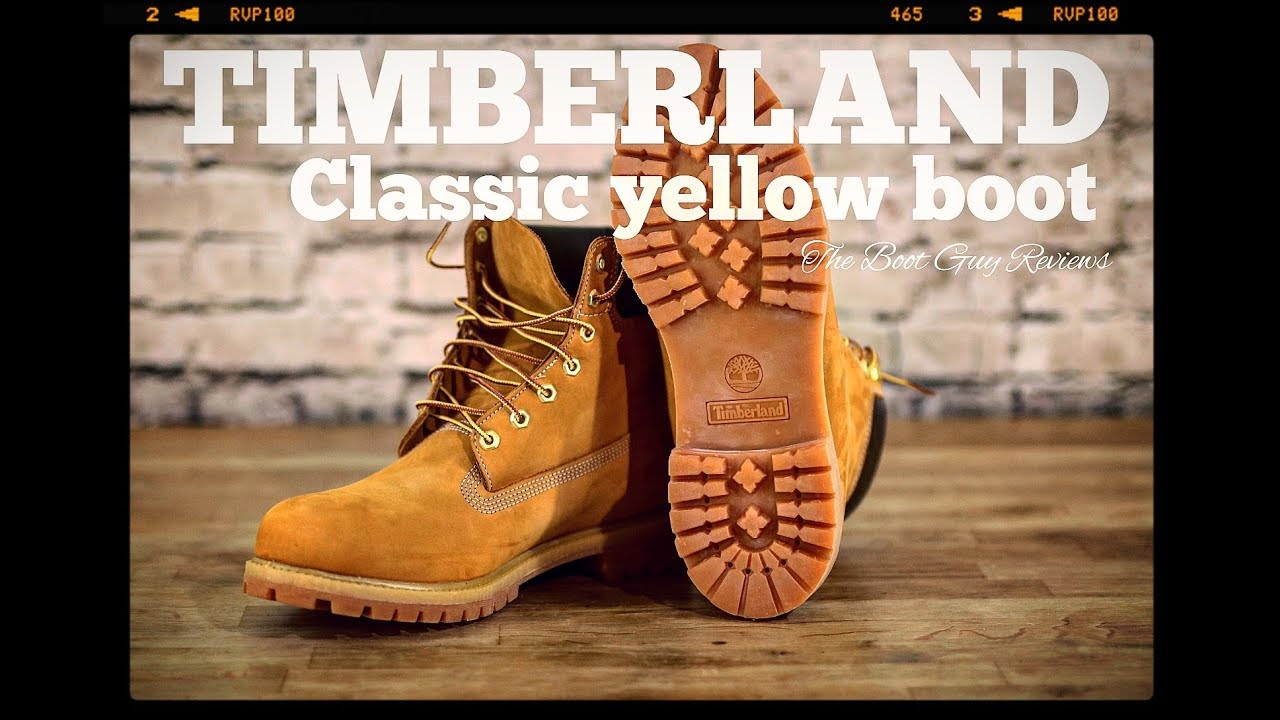 TImberland Classic Yellow Boot [ 10061 ][ The Boot Guy Reviews ]