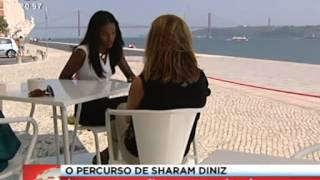 Sharam Diniz -Jornal da Noite SIC 01 09 2013