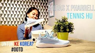 Adidas Pharrell Williams TENNIS HU untuk ke KOREA?! #OOTD