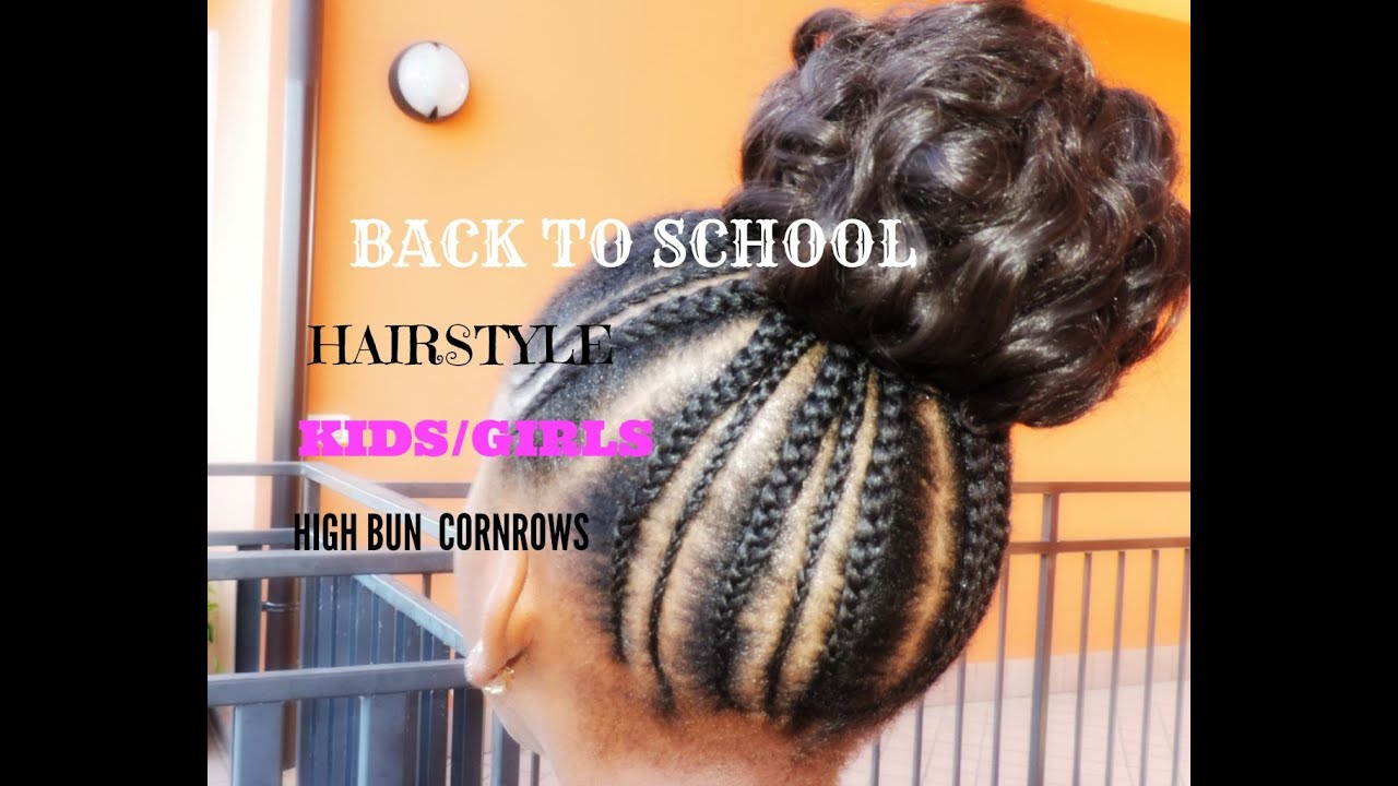 BACK TO SCHOOL HAIRSTYLE FOR KIDS GIRLS SIMPLE AND CUTE #1